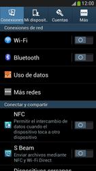 Samsung Galaxy S4 Mini - WiFi - Conectarse a una red WiFi - Paso 4