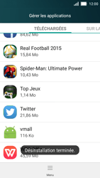 Huawei Y5 - Applications - Supprimer une application - Étape 7