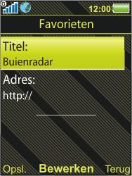 Sony Ericsson W995 - Internet - hoe te internetten - Stap 11