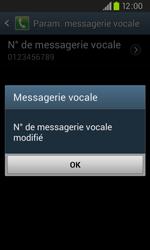Samsung I9105P Galaxy S II Plus - Messagerie vocale - configuration manuelle - Étape 10