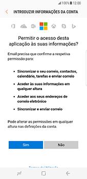Samsung Galaxy S8 - Email - Adicionar conta de email -  9