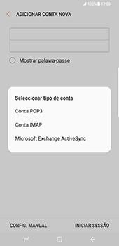 Samsung Galaxy S8 Plus - Email - Configurar a conta de Email -  9