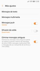 Samsung Galaxy A5 (2017) (A520) - Mensajería - Configurar el equipo para mensajes de texto - Paso 7