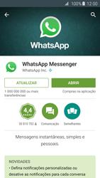 Samsung Galaxy S6 - Aplicações - Como configurar o WhatsApp -  6