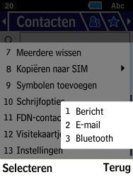 Samsung Xcover 550 (SM-B550H) - Contacten en data - Contacten overzetten via Bluetooth - Stap 6