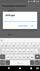 Sony Xperia XZ - Android Oreo - MMS - handmatig instellen - Stap 14