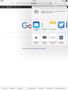 Apple iPad Pro (9.7) - Internet - navigation sur Internet - Étape 16