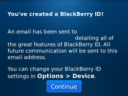 BlackBerry 9790 Bold - BlackBerry activation - BlackBerry ID activation - Step 12