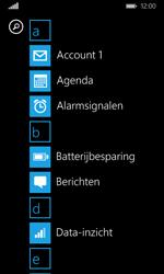 Microsoft Lumia 532 - E-mail - E-mails verzenden - Stap 3