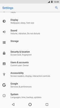 Nokia 6 (2018) - Device - Reset to factory settings - Step 5