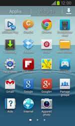 Samsung I9105P Galaxy S II Plus - Wifi - configuration manuelle - Étape 2