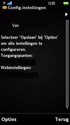 Sony Ericsson U1i Satio - Automatisch instellen - Automatisch Internet instellen - Stap 4
