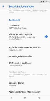 Nokia 7 Plus - Sécuriser votre mobile - Personnaliser le code PIN de votre carte SIM - Étape 5