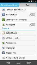 Huawei Ascend P7 - Réseau - Installation de mises à jour - Étape 5