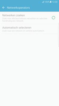 Samsung Samsung G928 Galaxy S6 Edge + (Android M) - Netwerk - Handmatig een netwerk selecteren - Stap 7