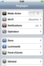 Apple iPhone 4 - MMS - configuration manuelle - Étape 4