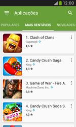 Samsung Galaxy Trend Plus - Aplicações - Como pesquisar e instalar aplicações -  9