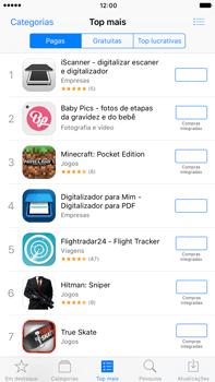 Apple iPhone 7 Plus - Aplicações - Como pesquisar e instalar aplicações -  6