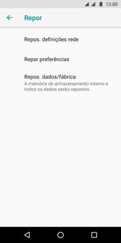 Motorola Moto G6 - Repor definições - Como repor definições de fábrica do telemóvel -  7