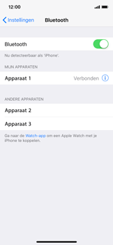 Apple iPhone X - WiFi en Bluetooth - Bluetooth koppelen - Stap 6