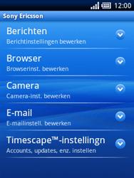 Sony Ericsson Xperia X10 Mini Pro - E-mail - Handmatig instellen - Stap 10