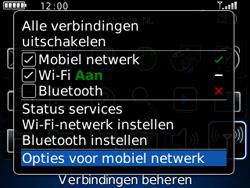BlackBerry 8520 Curve - Netwerk - Gebruik in het buitenland - Stap 4