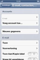 Apple iPhone 4 S - E-mail - Handmatig instellen - Stap 14