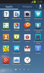 Samsung Galaxy S2 - Photos, vidéos, musique - Envoyer une photo via Bluetooth - Étape 3