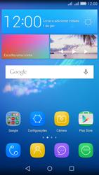 Huawei Y6 - Wi-Fi - Como usar seu aparelho como um roteador de rede wi-fi - Etapa 2