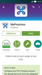 Huawei Y5 - Applications - MyProximus - Step 8