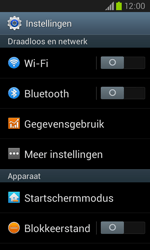 Samsung I8260 Galaxy Core - Internet - Aan- of uitzetten - Stap 4