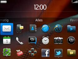 BlackBerry 9900 Bold Touch - E-mail - Hoe te versturen - Stap 3