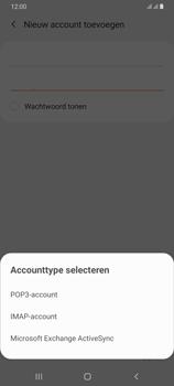 Samsung galaxy-a70-dual-sim-sm-a750fn - E-mail - Account instellen (POP3 met SMTP-verificatie) - Stap 9