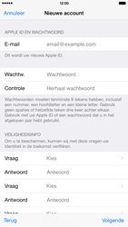 Apple iPhone 6 Plus - Applicaties - Account instellen - Stap 13