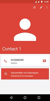 Motorola Moto G6 - Contact, Appels, SMS/MMS - Ajouter un contact - Étape 8