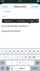 Apple iPhone 7 - E-mails - Envoyer un e-mail - Étape 9