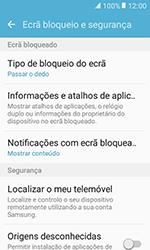 Samsung Galaxy Xcover 3 (G389) - Segurança - Como ativar o código de bloqueio do ecrã -  5
