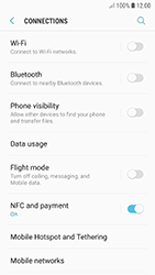Samsung A520F Galaxy A5 (2017) - Android Oreo - Internet - Disable data roaming - Step 5