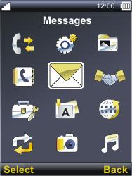 Sonim XP3300 Force - Voicemail - Manual configuration - Step 3