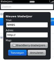 BlackBerry 9800 Torch - Internet - Hoe te internetten - Stap 9