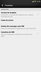 HTC One Max - SMS - configuration manuelle - Étape 8
