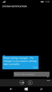 Microsoft Lumia 640 XL - MMS - Automatic configuration - Step 5