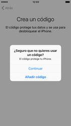 Apple iPhone 6 iOS 10 - Primeros pasos - Activar el equipo - Paso 15