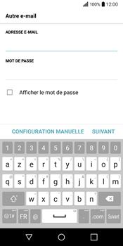 LG Q6 - E-mail - Configuration manuelle - Étape 8