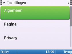 Nokia E5-00 - Internet - handmatig instellen - Stap 23