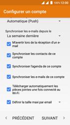Wiko Freddy - E-mails - Ajouter ou modifier votre compte Outlook - Étape 13