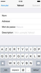 Apple iPhone 5c - iOS 8 - E-mail - 032b. Email wizard - Yahoo - Étape 7