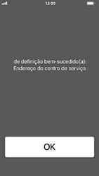 Apple iPhone SE - iOS 12 - SMS - Como configurar o centro de mensagens -  6