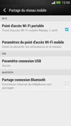 HTC One - Internet et connexion - Partager votre connexion en Wi-Fi - Étape 12
