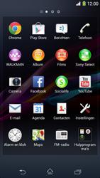Sony Xperia Z1 4G (C6903) - Instellingen aanpassen - Fabrieksinstellingen terugzetten - Stap 3